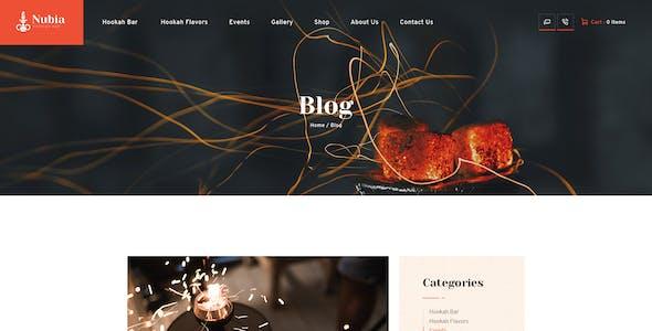 Anubia | Smoking and Hookah Bar WordPress Theme