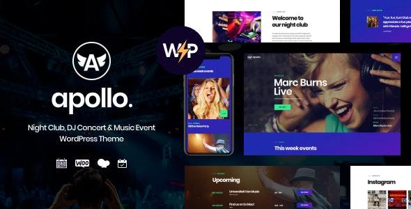 Apollo   Night Club, DJ Concert & Music Event WordPress Theme - Nightlife Entertainment