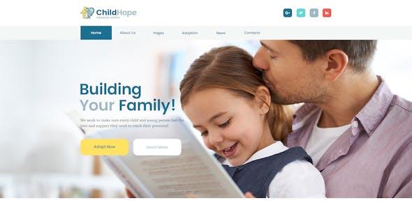 ChildHope   Child Adoption Service & Charity Nonprofit WordPress Theme