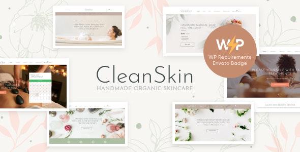 CleanSkin | Handmade Organic Soap & Natural Cosmetics Shop WordPress Theme - WooCommerce eCommerce