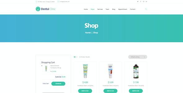 Dental Clinic, Medicine & Healthcare Doctor WordPress Theme