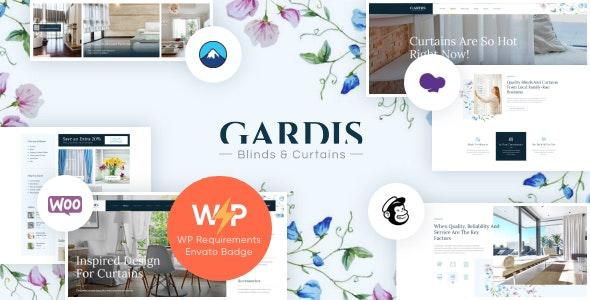 Gardis | Blinds and Curtains Studio & Shop WordPress Theme - Business Corporate