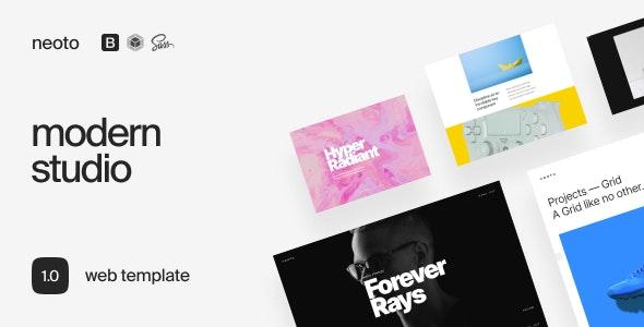 Neoto – Creative Studio Portfolio Template - Portfolio Creative