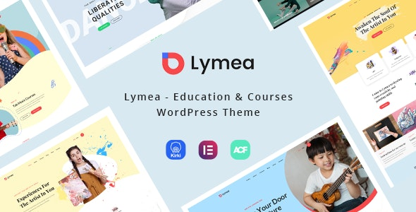 Lymea - Art & Music School WordPress Theme - Education WordPress