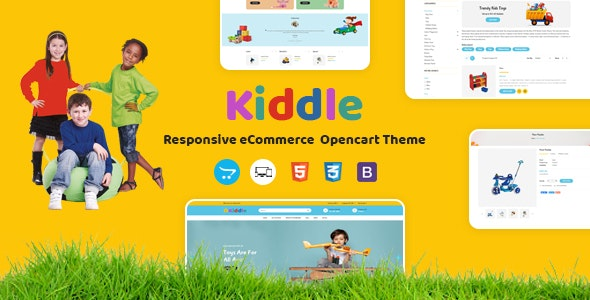 Kiddle - Responsive OpenCart Theme - OpenCart eCommerce