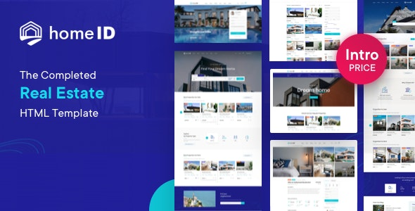 HomeID – Real Estate HTML Template - Business Corporate