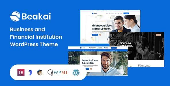 Beakai - Multipurpose Business WordPress Theme