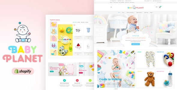 Baby Planet | Babies Store Shopify Theme - Shopping Shopify