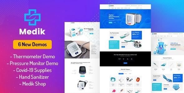 Medik - Medical WooCommerce Theme - WooCommerce eCommerce