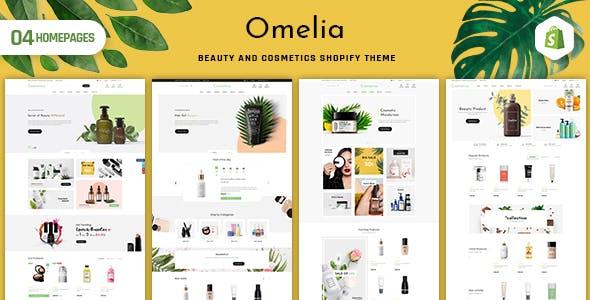 Omelia - Beauty & Cosmetics Shopify Theme