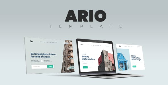 Ario - Multi-Purpose HTML Template for Business and Startups