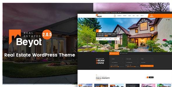 Beyot - WordPress Real Estate Theme - Real Estate WordPress