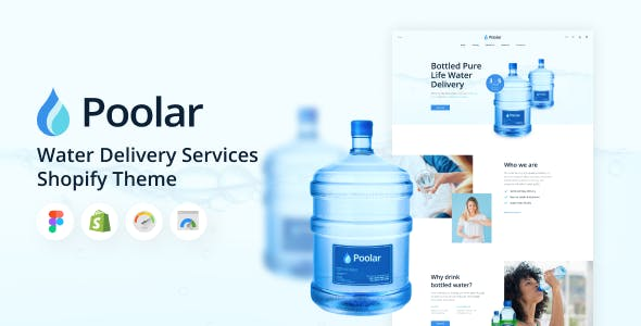 Poolar - Shopify Water Delivery Services Theme