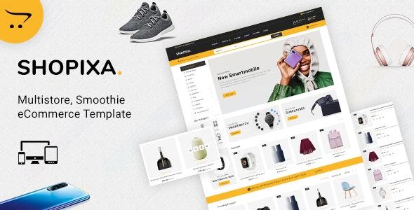 Shopixa - Premium Electronics Store - Shopping OpenCart