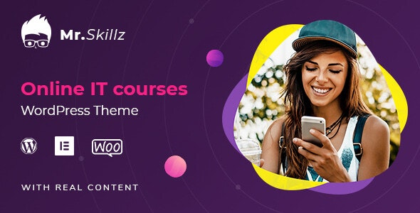 MrSkillz - IT Online Courses WordPress theme - Education WordPress
