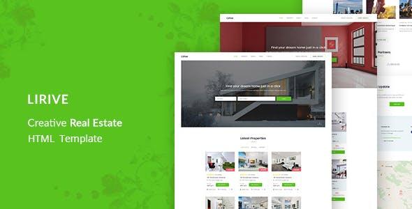 Lirive - Real Estate HTML Template