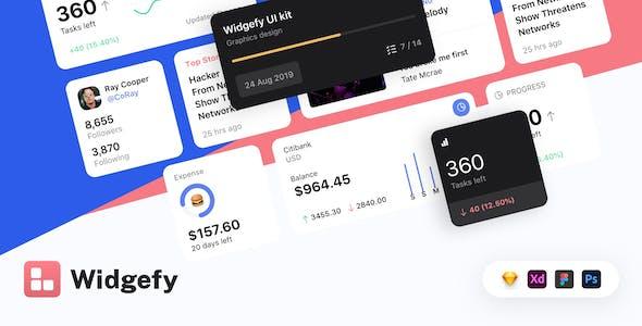 Widgefy Multipurpose Mobile Widgets Pack