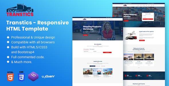 Transtics - Responsive HTML Template