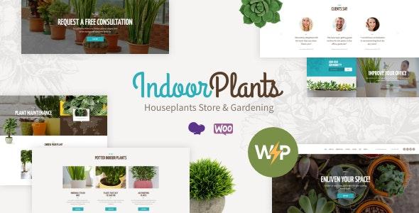 Indoor Plants | Houseplants store & Gardening WordPress Theme - Business Corporate
