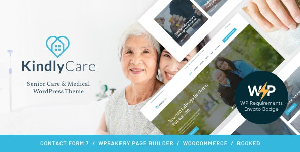 KindlyCare - Senior Care & Medical WordPress Theme - Health & Beauty Retail