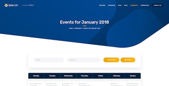 Lymcoin | Cryptocurrency & ICO WordPress Theme