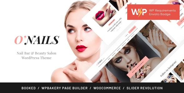 O'Nails - Nail Bar & Beauty Salon Wellness WordPress Theme - Health & Beauty Retail