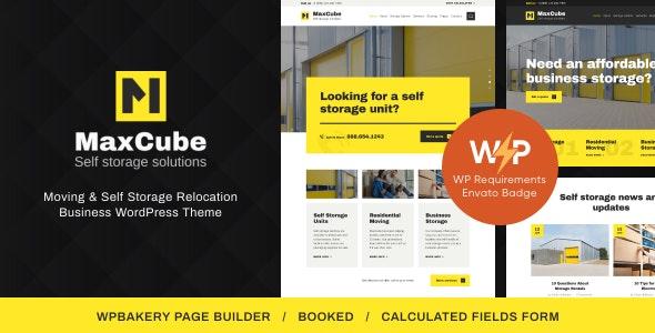 MaxCube | Moving & Self Storage Relocation Business WordPress Theme - Business Corporate