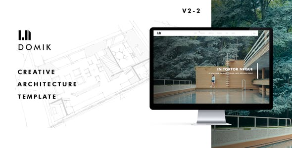 Domik -  Responsive  Architecture Template