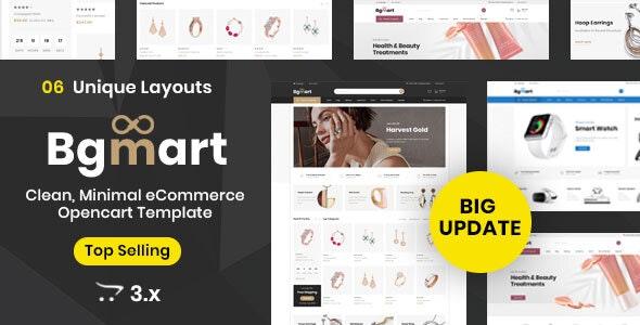Bgmart Multipurpose - Responsive Opencart 3.0 Theme - Miscellaneous OpenCart