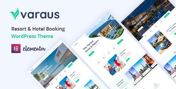 Varaus - Hotel Booking WordPress Theme - Travel Retail