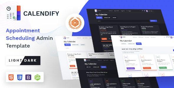 Calendify | VueJS, Laravel, HTML Appointment & Calendar Schedule Admin Template