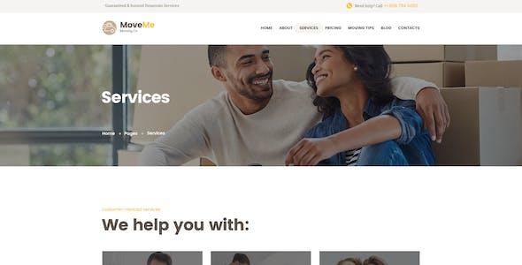 MoveMe | Moving & Storage Relocation Company WordPress Theme