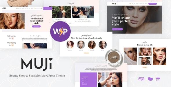 Muji | Beauty Shop & Spa Salon WordPress Theme - Health & Beauty Retail