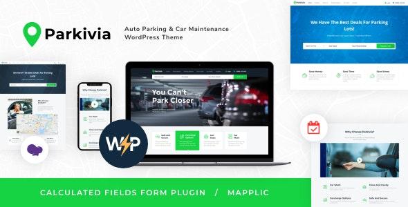 Parkivia | Auto Parking & Car Maintenance WordPress Theme - Retail WordPress