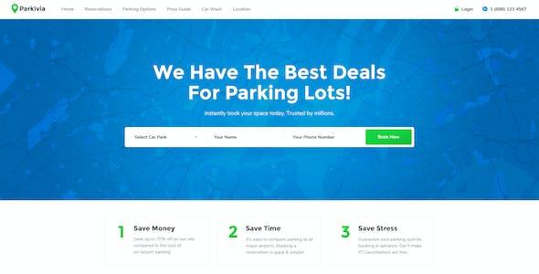 Parkivia | Auto Parking & Car Maintenance WordPress Theme