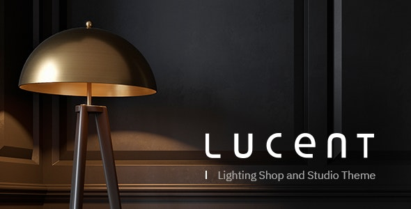 Lucent - Lighting Shop Theme - WooCommerce eCommerce