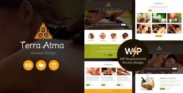 Terra Atma   Spa & Massage Salon Wellness WordPress Theme - Health & Beauty Retail