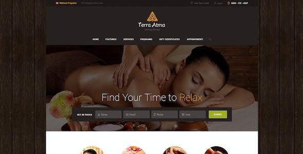 Terra Atma   Spa & Massage Salon Wellness WordPress Theme