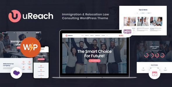 uReach | Immigration & Relocation Law Consulting WordPress Theme - Business Corporate