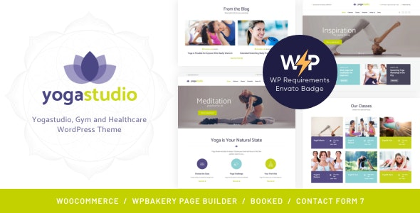 BeYoga | Yogastudio & Gym WordPress Theme - Health & Beauty Retail