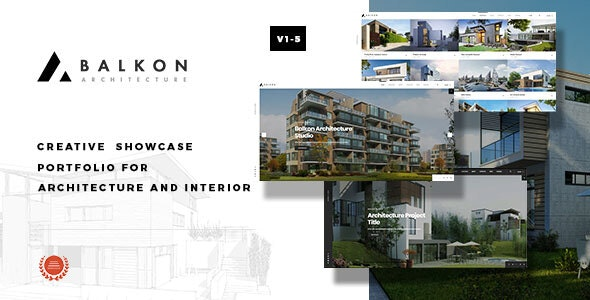Balkon - Creative  Responsive  Architecture Template - Business Corporate
