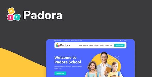 Padora - Kindergarten & Child Care Elementor Template Kit