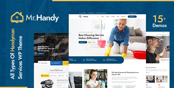 MrHandy – Handyman Services WordPress Theme - Business Corporate