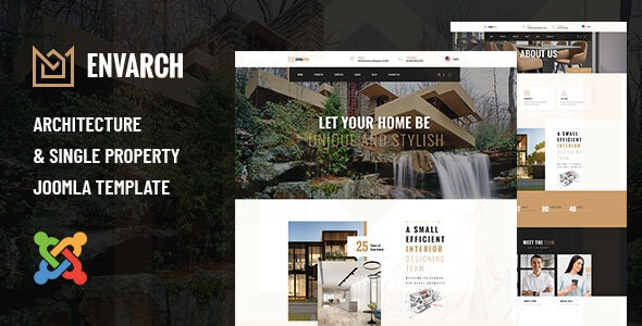 EnvArch - Architecture and Single Property Joomla Template - Business Corporate