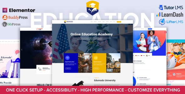 Edumodo - Education WordPress Theme