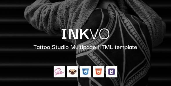 Inkvo - Tattoo Studio HTML5 Template