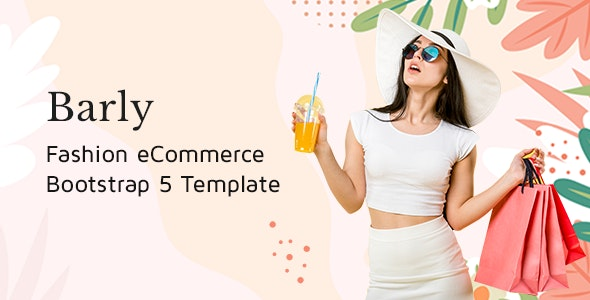 Barly Fashion eCommerce Bootstrap 5 Template