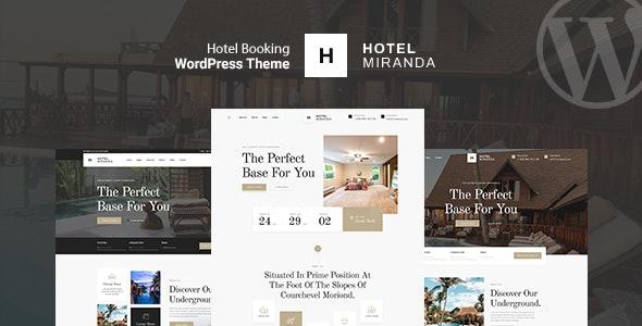 Miranda - Hotel Booking WordPress Theme - Travel Retail