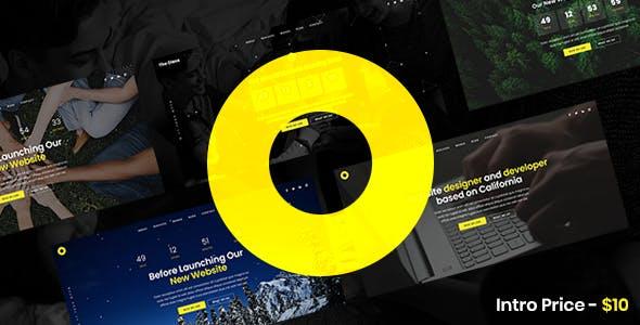 Oleos - Creative Coming Soon Website Template