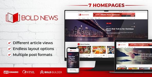 Bold News - Magazine & Newspaper - News / Editorial Blog / Magazine